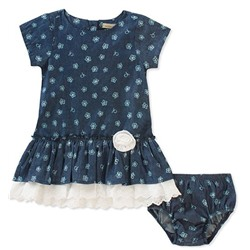 АКЦИЯ Calvin Klein Baby Girls Dress With Panty Set