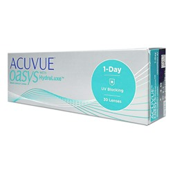 Acuvue Oasys 1- Day with HYDRALUXE (30 pack)
