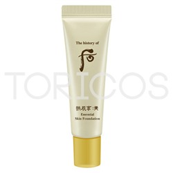 Крем тональный c эффектом лифтинга (SPF 22, PA++).  The History of Whoo Mi Essential Skin Foundation No.2 (SPF30 / PA++) 6ml